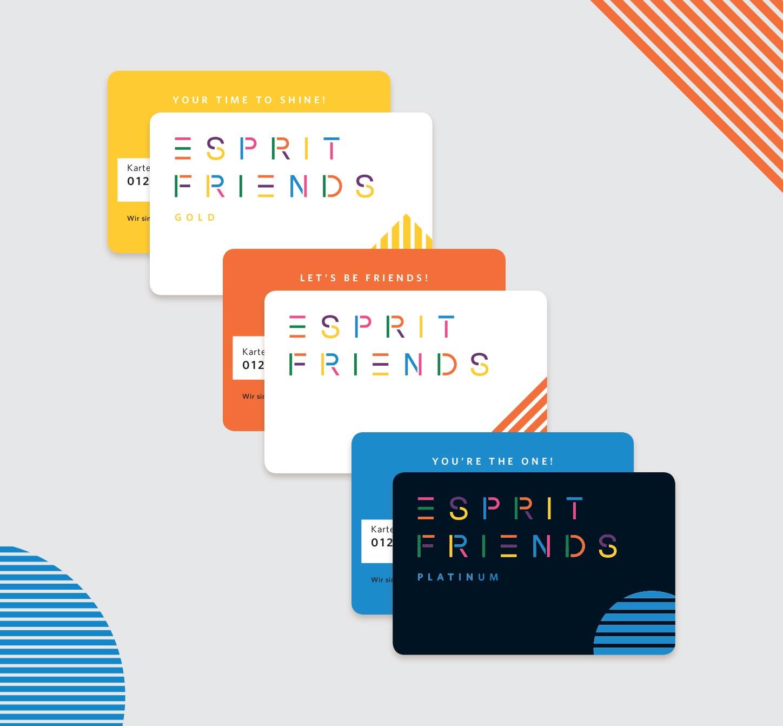 Connexion My Esprit - Friends Cards